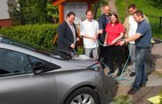 E-Tankstelle in Mülben eingeweiht